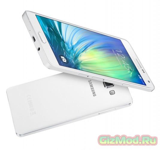 Новый смартфон Samsung Galaxy A7