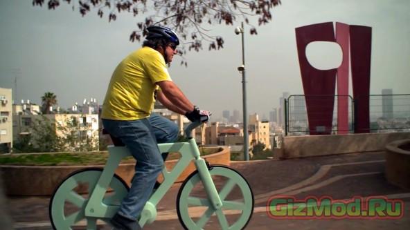 Велосипед из картона