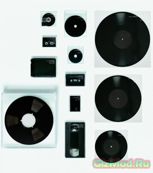 Альбом на 12 разных носителях