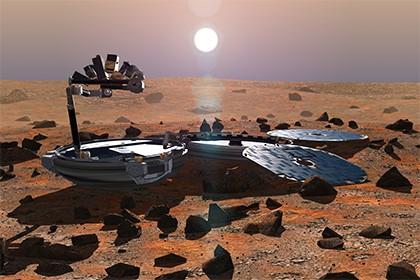 """Марсианский """"найденыш"""""""