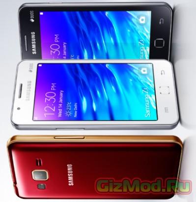 Samsung Z1 на базе Tizen