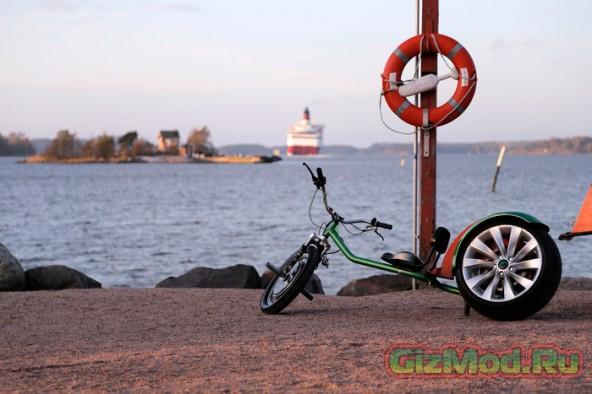 Chop-E — новый экономный электрический велосипед