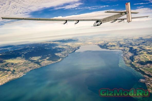 Вокруг света на солнечном самолете