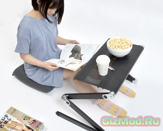 Super Gorone Desk — стол для ленивых