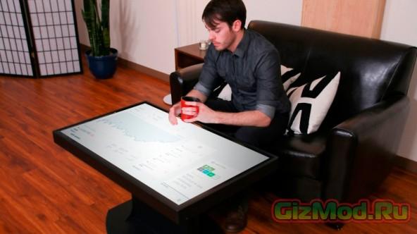 «Умный» стол с двумя операционными системами