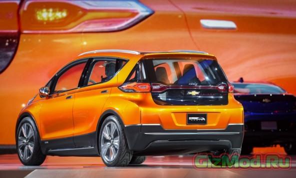 Chevrolet Bolt пускают в серию