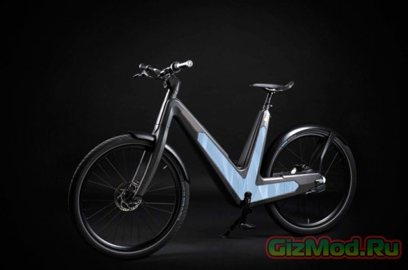 Велосипед на солнечных батареях за $9000