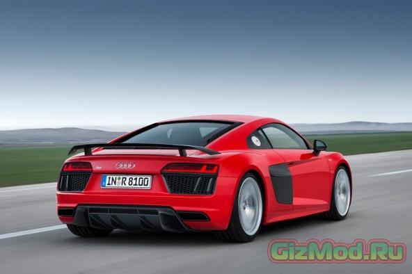 Новая Audi R8 еще быстрее