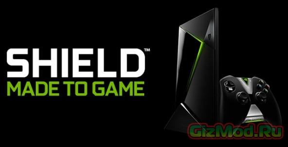 Игровая консоль на Android TV NVIDIA Shield