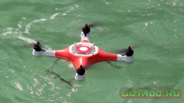 Splash Drone — дрон в водонепроницаемом корпусе