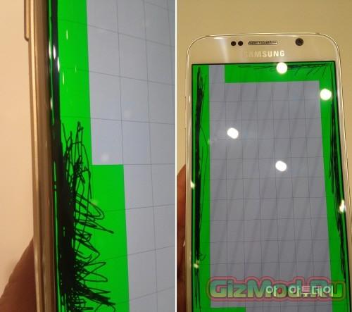 Экран Galaxy S6 оказался не идеальным