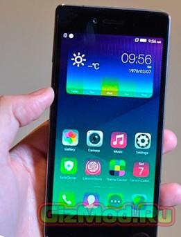 Смартфон Vibe Shot от Lenovo