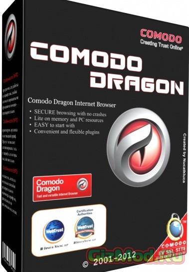 Comodo Dragon 36.1.1.22 - отлично защищенный браузер