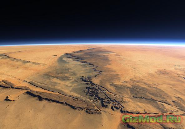На Марсе использовалось ядерное оружие