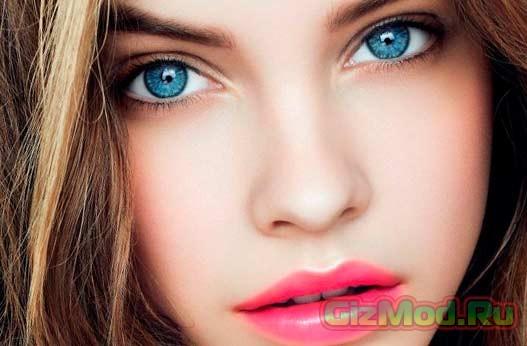 Изменить цвет глаз за 30 секунд