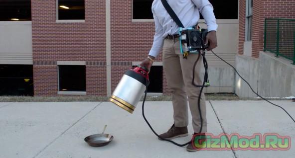 Портативный звуковой огнетушитель