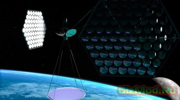 Китай планирует построить космическую электростанцию