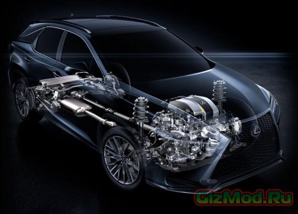 Lexus RX нового поколения