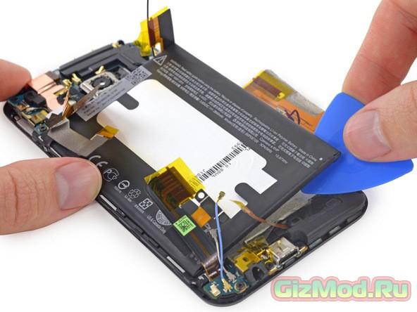 HTC One M9 получил 2 балла за ремонтопригодность