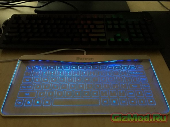Стеклянная клавиатура Bastron Glass Keyboard