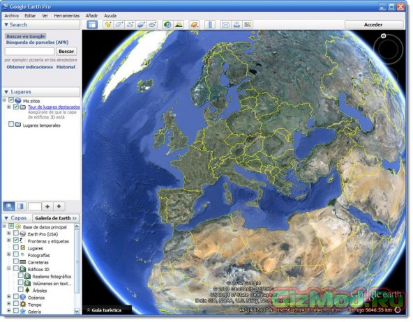 Google Earth 7.1.4.1529 - вселенная на ладони