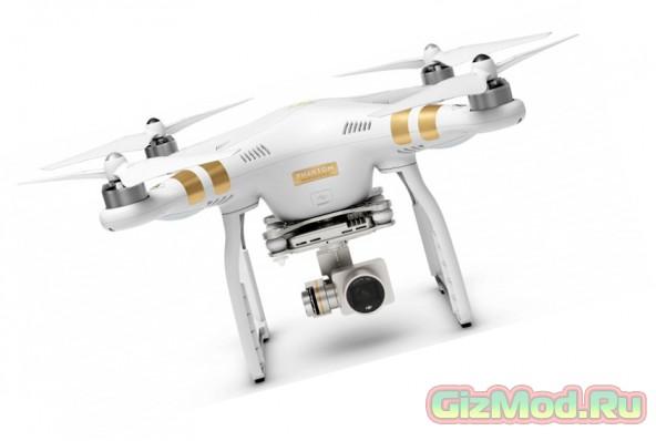 Новый квадрокоптер от DJI —  Phantom 3