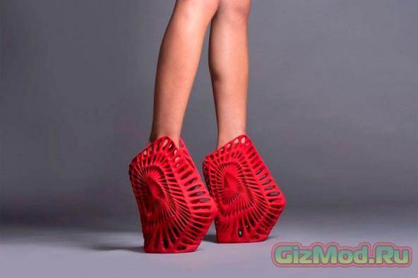 Дизайнерская обувь и 3D-печать