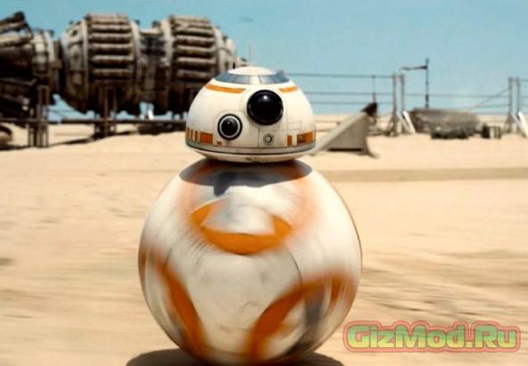 Дроид BB8 из новой саги о Звездных войнах