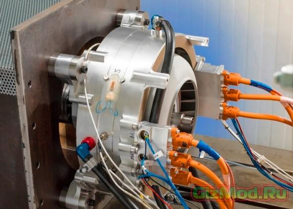 Мощный электродвигатель для самолетов от Siemens