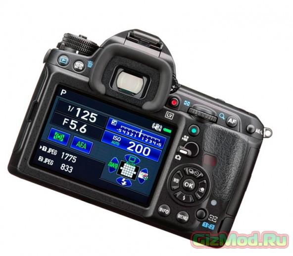 Новая зеркальная фотокамера из серии Pentax K-3