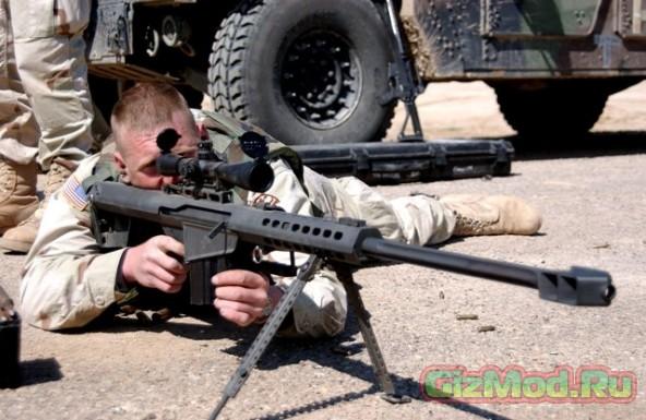 DARPA демонстрирует самонаводящиеся пули
