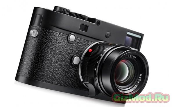 Новая камера Leica M Monochrom для черно-белых фотографий