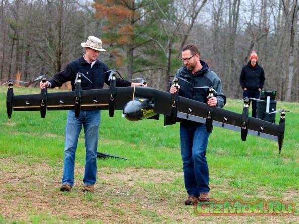Разработка нового дрона от NASA