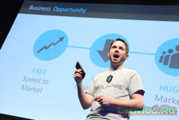 Чехол для iPhone 6 питается радиоволнами