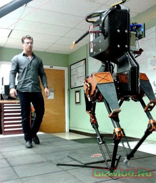 Двуногий робот ATRIAS вышел на прогулку