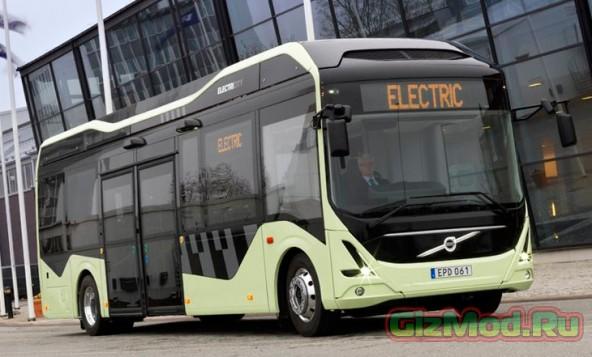 Электрические автобусы в Швеции
