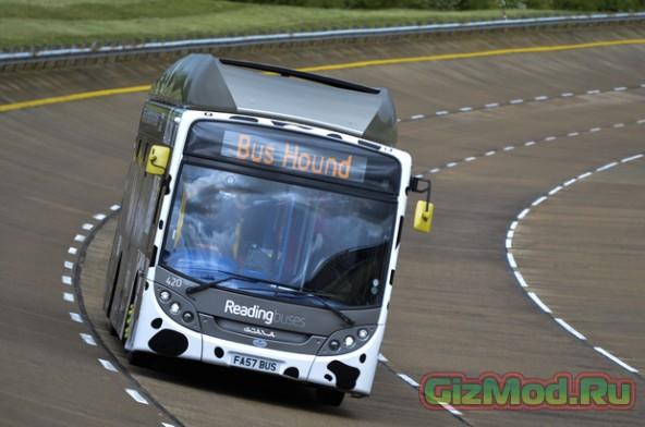 """""""Навозный автобус"""" ставит рекорды скорости"""
