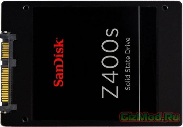 SSD SanDisk с претензией на долю рынка HDD