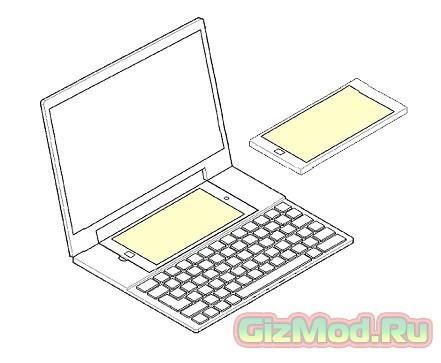 Новый патент для Samsung - ноутбук для смартфона