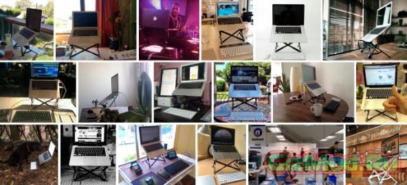 Roost — универсальная подставка для ноутбука