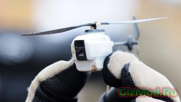 Миниатюрный дрон  Black Hornet Nano