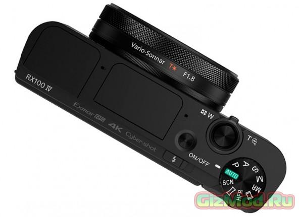 Новый фотоаппарат Sony серии Cyber-shot