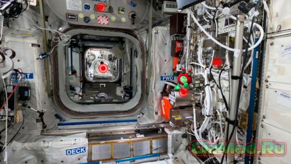 Виртуальный тур по модулю Columbus на МКС