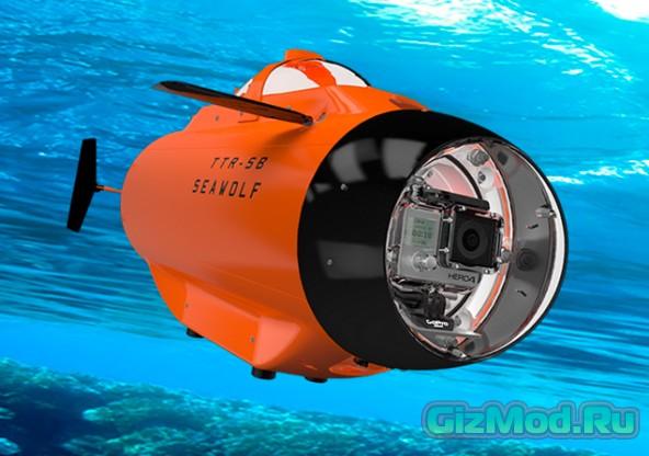 Подводный дрон TTRobotix Seawolf