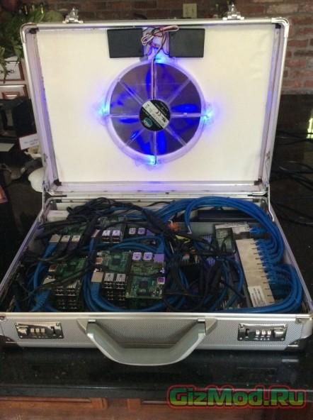 Суперкомпьютер в чемодане UltraPi