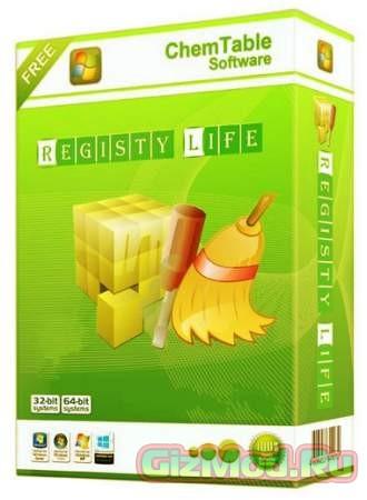 Registry Life 3.08 - очистка системы от мусора