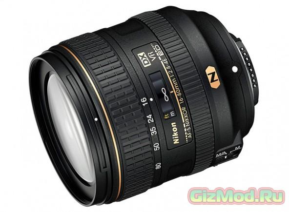 Новый зум-объектив от Nikon