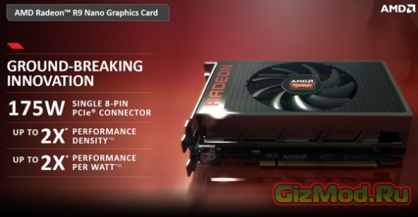 Подробности об AMD Radeon R9 Fury и AMD Radeon R9 Nano