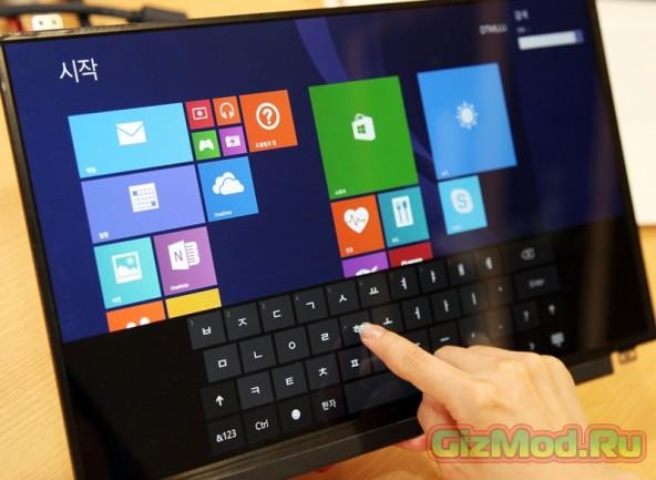 Технология Advanced In-Cell Touch в дисплеях LG