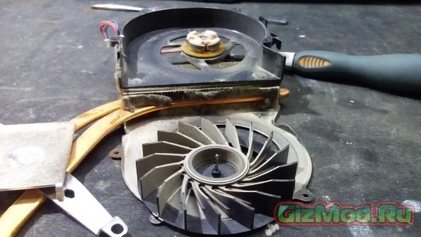 Как почистить от пыли ноутбук SONY Vaio PCG-71211V